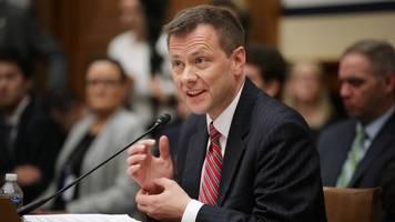former fbi agent peter strzok sues doj to get his job back
