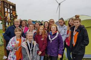 tamworth girl guides evacuated from charnwood 2019 international guide and scout camp