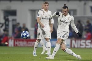 gareth bale omitted from real madrid squad again
