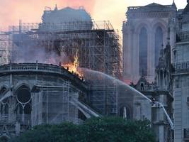 paris official reassures public about health risks from notre dame fire after lead scare