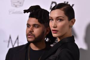 the weeknd and bella hadid split again