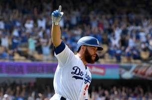 Russell Martin hits two-run, walk off single  in Dodgers 2-1 win