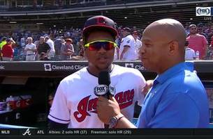 You know, bro! Jose Ramirez got his 15th 'home run pitch' in win over Rangers