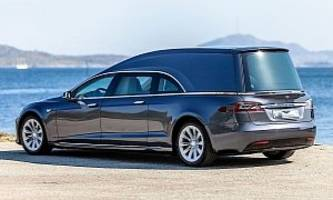 this tesla model s hearse can be yours for $220,000