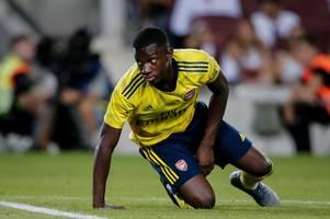 'schooled twice in a week' - leeds utd fans wind up bristol city faithful after eddie nketiah loan