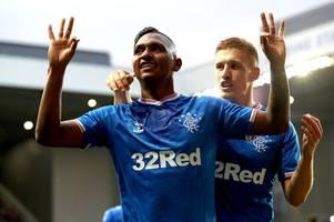 alfredo morelos latest as west brom end transfer interest in rangers striker