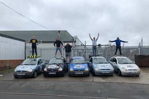 five tamworth friends take on epic charity challenge