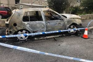 police update on suspected arson attack that led to six homes being evacuated