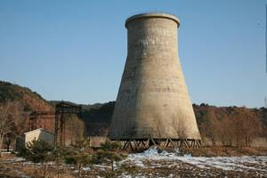 germany demolishes cooling tower of defunct nuclear plant