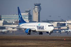 Mach tries to stop Air Transat sale to Air Canada