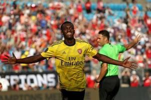 arsenal wonderkid eddie nketiah's 2019/20 season at leeds predicted by football manager
