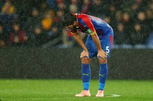sakho, schlupp, tomkins: the latest crystal palace injury news ahead of everton clash