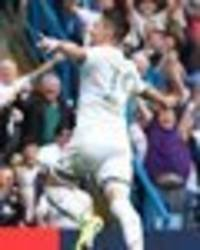 leeds fans hail pablo hernandez after nottingham forest draw - 'messi has posters of him'