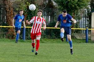 former cheltenham town youngster looking for first fa cup goal as saracens visit newport pagnell town