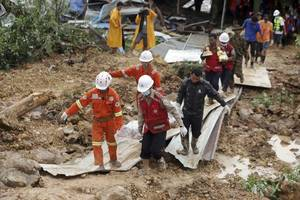 Myanmar Landslide: Death Toll Rises to 34, Many More Feared Missing