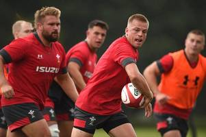 the startling record that gareth anscombe will look to extend for wales against england