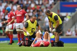the latest on gareth anscombe's worrying injury as wales coach warren gatland issues update