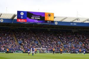 premier league release statement explaining why wolves v leicester city goal was disallowed