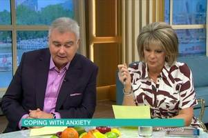 Ruth Langsford walks off This Morning set in tears over sister's death