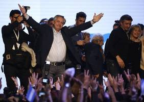 argentina opposition scores big primary win, hurting macri's re-election bid