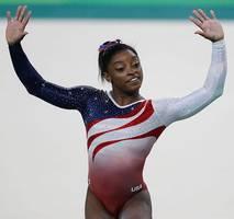simone biles captures sixth u.s. gymnastics title after triple-double flip