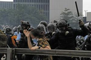 would china risk another tiananmen in hong kong?