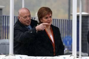 nicola sturgeon clashes with billionaire snp backer over future of crisis-hit ferguson marine shipyard