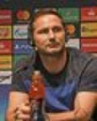 Frank Lampard vows to stick with Chelsea's kids despite 4-0 hammering at Man Utd
