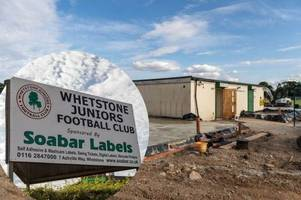 new blow for village football club rebuilding after arson attack