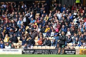 Port Vale fans reveal plans for Salford