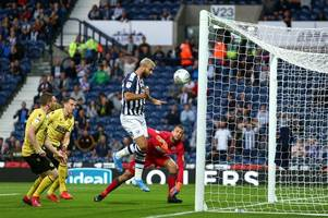 charlie austin debut goal not enough as west brom dumped out of carabao cup