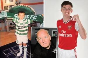 From boy to man - Motherwell pub boss backs grounded Kieran Tierney to shine at Arsenal