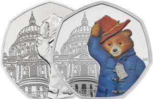 Paddington Bear 50p coins unveiled - here's where to get them