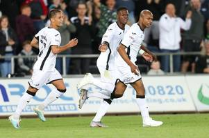 Steve Cooper's exciting Andre Ayew verdict after striker's incredible Swansea City impact in Carabao Cup win
