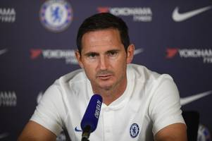 chelsea press conference live: frank lampard on liverpool, super cup, man united loss & injuries