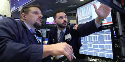 stocks are plunging as traders brace for a german recession and global turmoil as us-china trade war continues