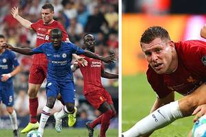 chelsea fans love what n'golo kante did to james milner in liverpool super cup clash - 'pure filth'