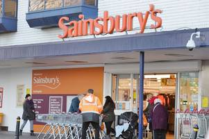 sainsbury's investigating 'extremely rare' case as scissors found inside food packaging