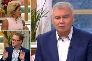this morning's eamonn holmes forced to step in as doctors row over calling patients 'fat'