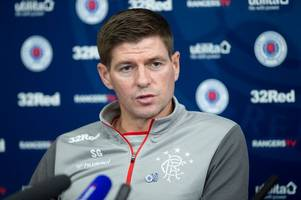 rangers press conference in full as steven gerrard reacts to celtic flop and fires coefficient warning