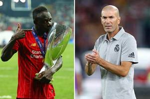how liverpool star sadio mane feels about real madrid transfer after zinedine zidane 'phonecall'