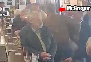Conor McGregor Punches An Old Man For Not Drinking His Whiskey