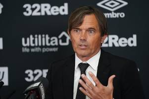 derby county press conference live - phillip cocu on nottingham forest tie, stoke city clash and more