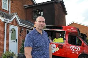 ice cream man from hinckley reveals impact of arson attack