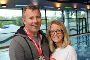 Horror accident inspires charity challenges for Tamworth couple