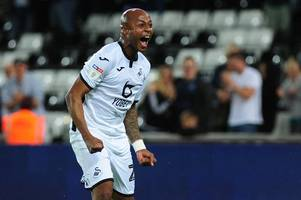 andre ayew's honest message to swansea city fans after northampton brace as striker reveals steve cooper talks