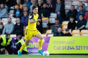 oliver sarkic not fazed by competition at burton albion