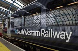 south western railway staff announce four-day strike