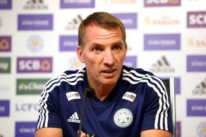 leicester city press conference live: brendan rodgers on chelsea, team news and outgoings