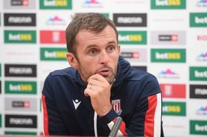 nathan jones press conference live! stoke city boss answers questions ahead of derby county clash